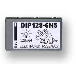 EA DIP128J-6N5LW - ELECTRONIC ASSEMBLY